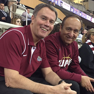 IUPUI men's basketball game against South Dakota State January 7, 2017