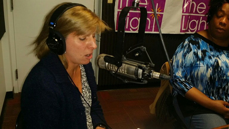executive Vice Chancellor Kathy Johnson on AM1310's Unity in the Community radio show