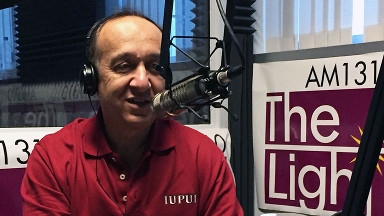 Chancellor Paydar hosts AM1310's Unity in the Community radio show