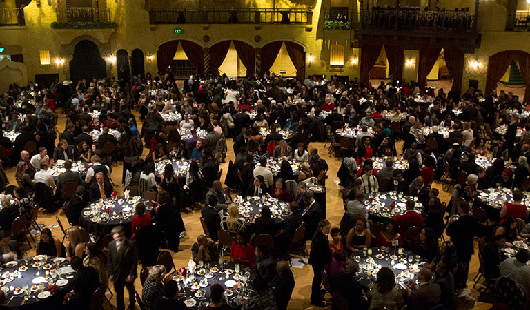 Guests at the 47th Annual IUPUI Dr. Martin Luther King, Jr. Celebration Dinner
