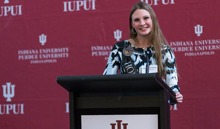 2016 IUPUI Homecoming Court Reception