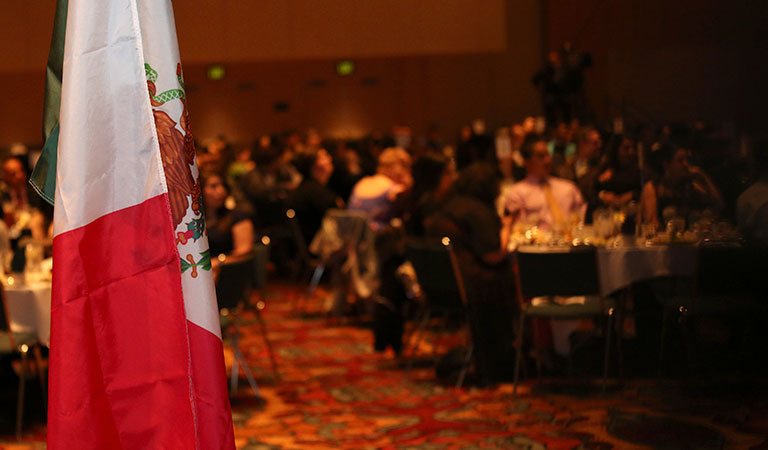 Guests at the 9th Annual IUPUI Cesar Chavez Celebration Dinner