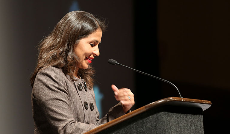 Speaker at the 9th Annual IUPUI Cesar Chavez Celebration Dinner