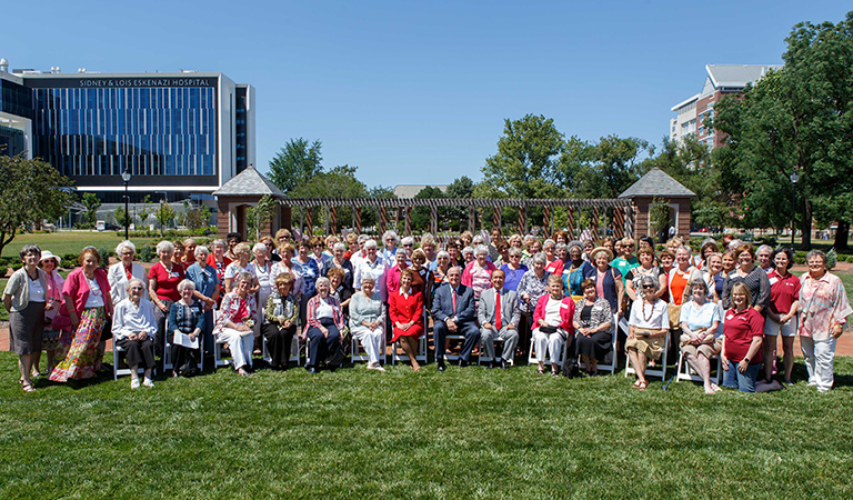 The IU School of Nursing alumni and current students