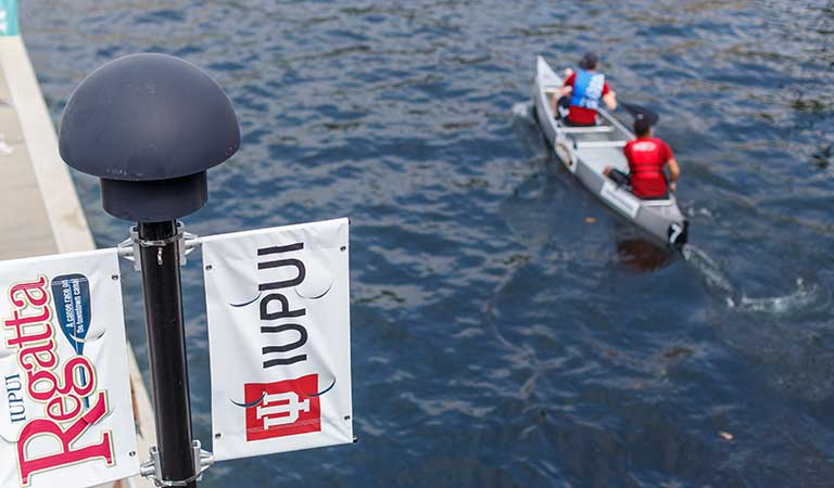 The IUPUI 8th Annual Regatta on the White River Canal