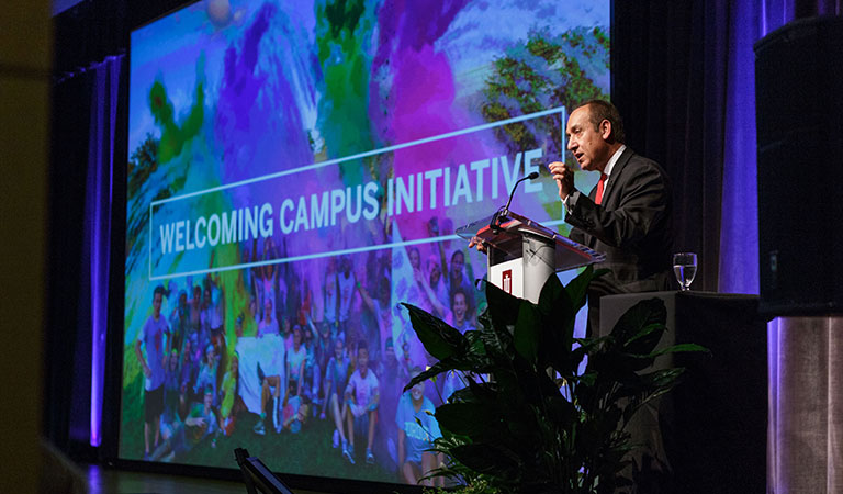 IUPUI State of the Campus Address 2016
