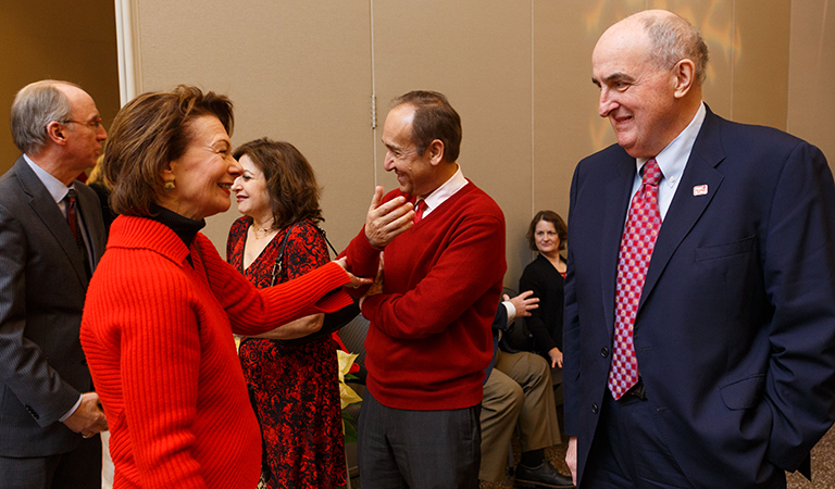 President McRobbie's holiday party at IUPUI 2016