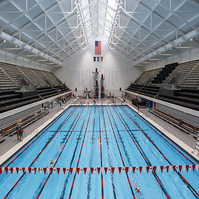 IUPUI Natatorium Reopening ceremony after extensive renovation 2016