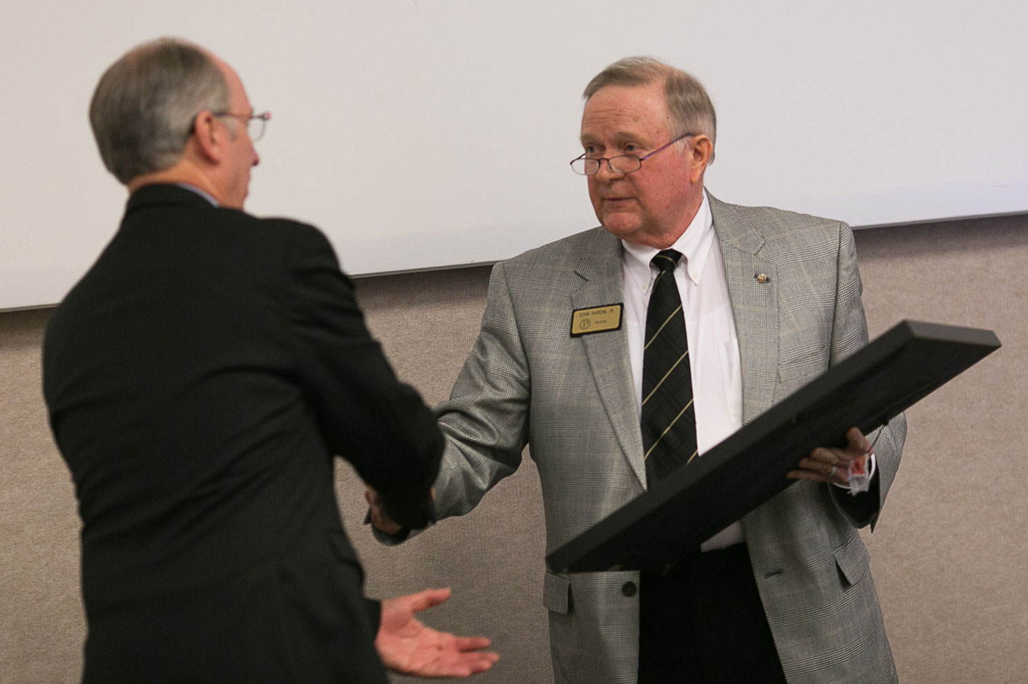 Chancellor Bantz honored by Purdue Board of Trustees